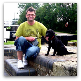 Russ from Rumbles Dog Walking, Thornton, Lancs FY5.  Dog walker covering Thornton, Cleveleys, Anchorsholme and Fleetwood.